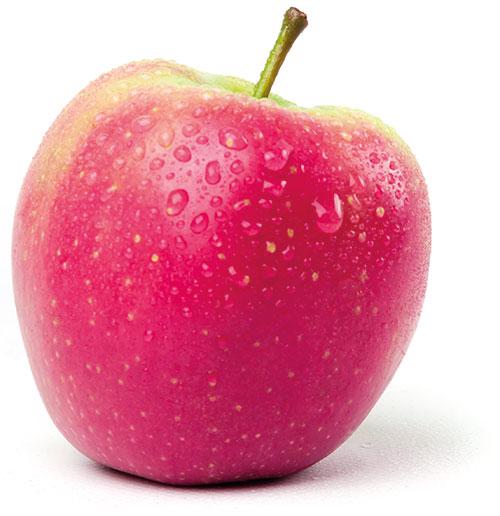 De norm bij de biologische appels